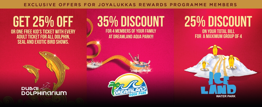 Exclusive offers for Joyalukkas Rewards Programme