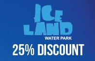 25% Discount at Ice Land Water Park
